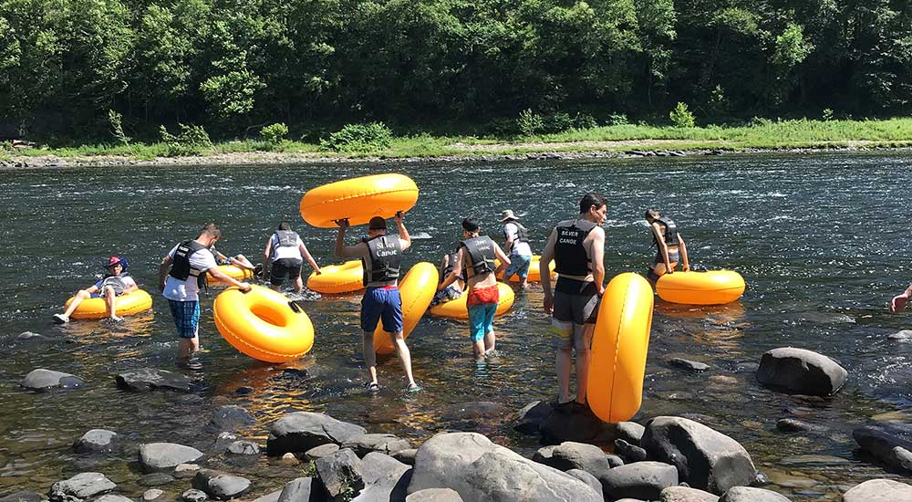 Tubing from Mongaup to Port Jervis